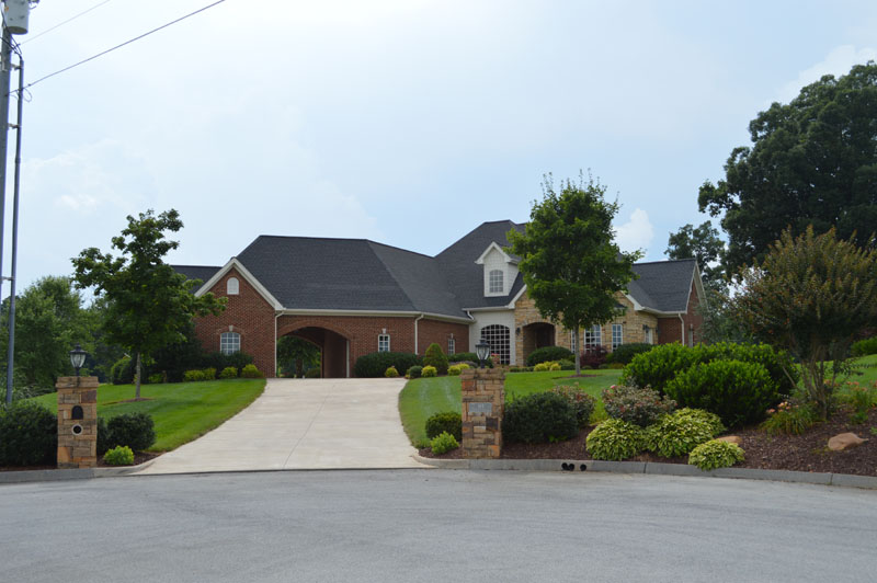 Landscaped House